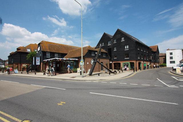 Antique centre, Rye, Sussex