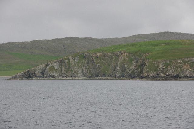 Cliffs below Height of Neap, Lochend