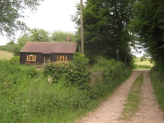 Track to Yawlings Wood Farm