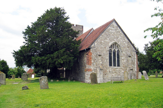 Church of St Mary The Virgin, Burham Court, Kent