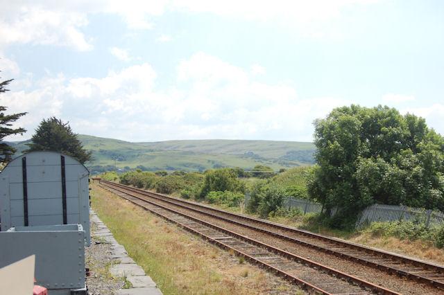 Cambrian Coast railway line at Tywyn