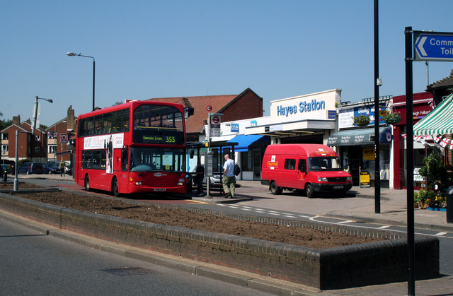 Hayes, Kent:  Station