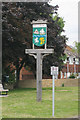 TQ7164 : Wouldham Village Sign by Oast House Archive