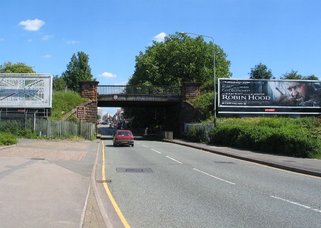 The 'Alvis bridge', Holyhead Road