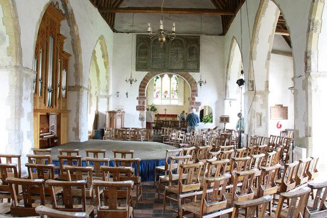 St Peter & St Paul, Peasmarsh, Sussex - East end