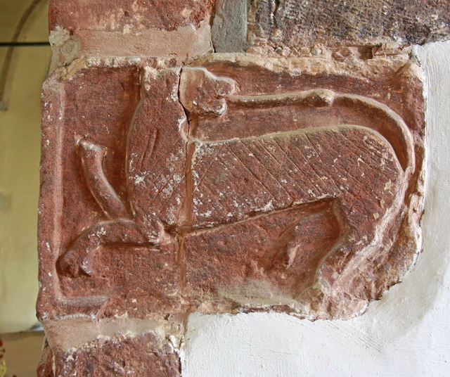 St Peter & St Paul, Peasmarsh, Sussex - Chancel arch detail