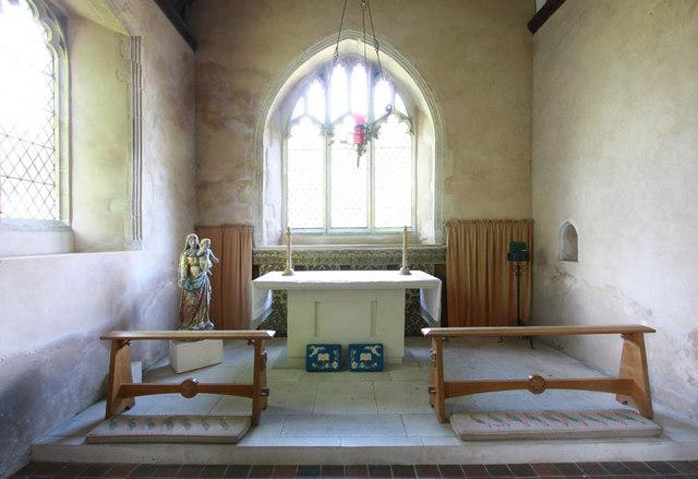 All Saints, Iden, Sussex - North chapel