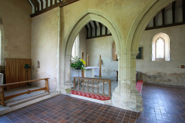 All Saints, Iden, Sussex - Interior