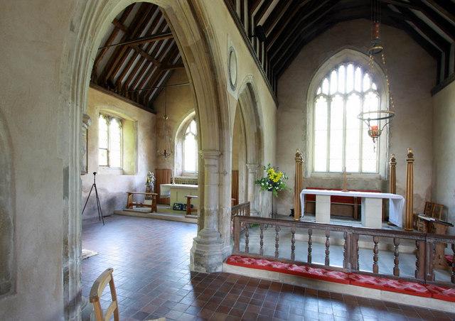 All Saints, Iden, Sussex - East end