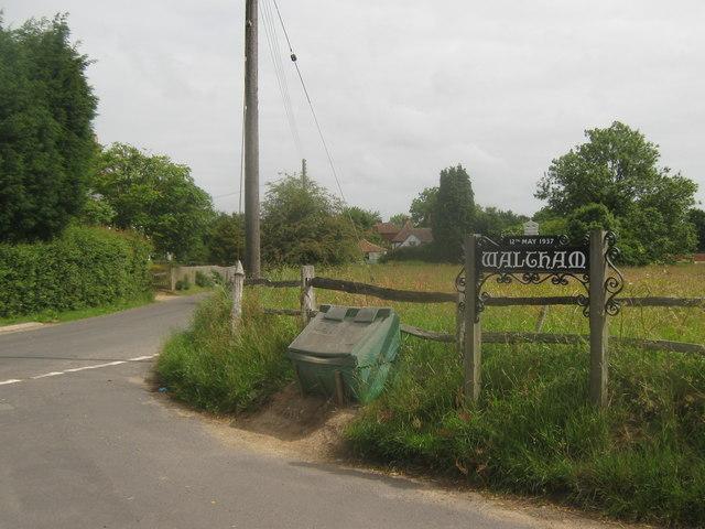 Waltham Village Sign