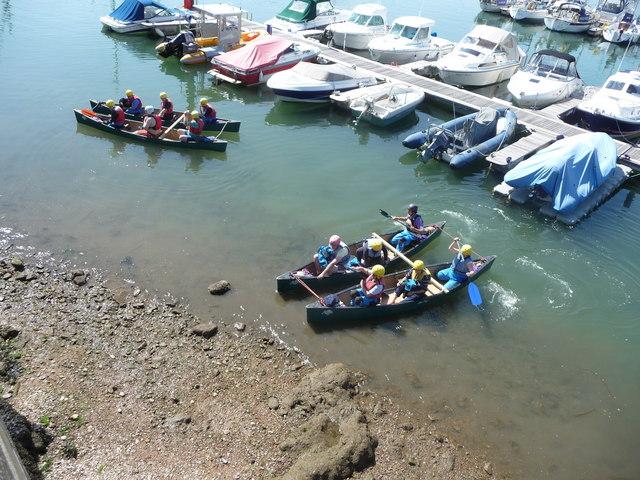 Brixham : Brixham Marina & Canoes