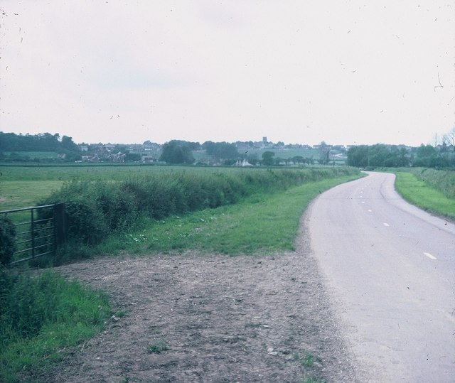 View towards Highworth from Eastrop