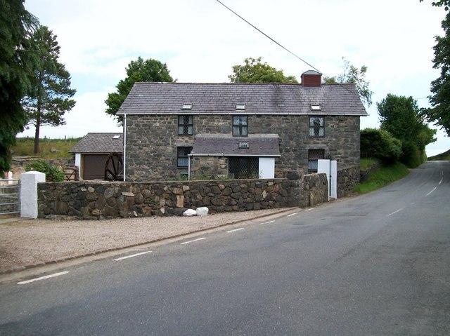 Ty Melin Rhyd-hir - the old mill house