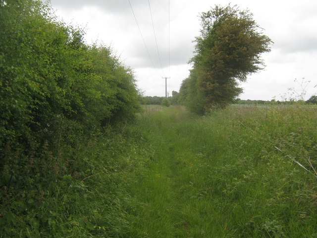 Bridleway to Hassell Street