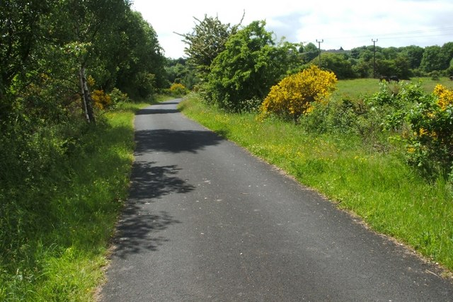 Cycle Route 7 at Mains of Cardross