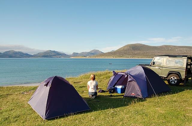 Camping at Horgabost
