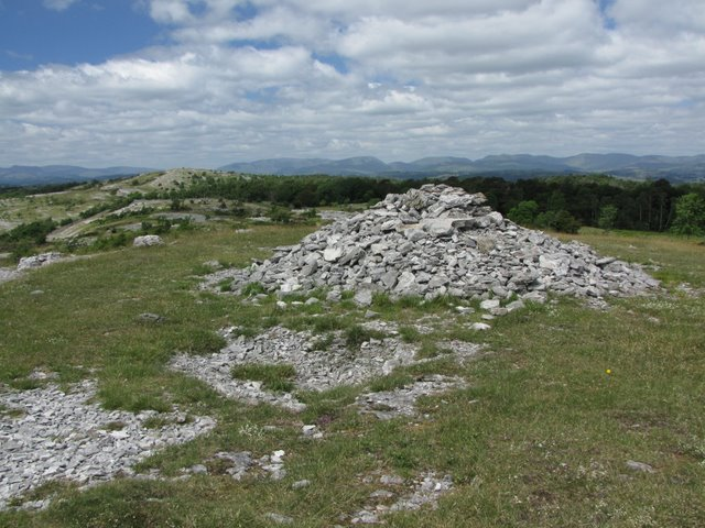 The Cairn at Spot Height 198 metres