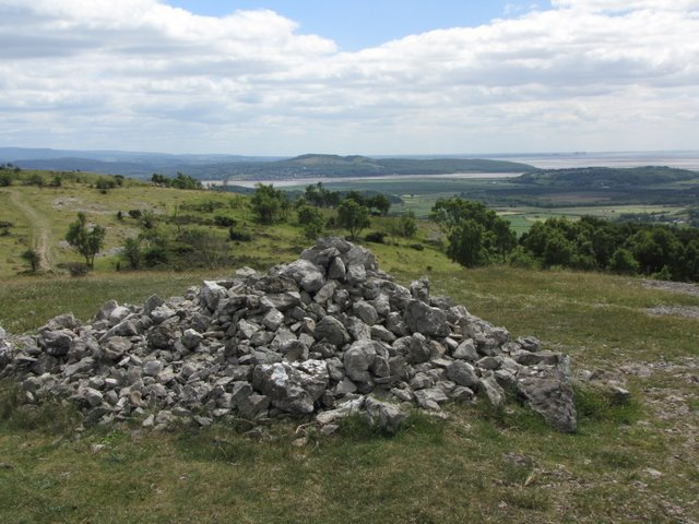 Large Cairn on Whitbarrow