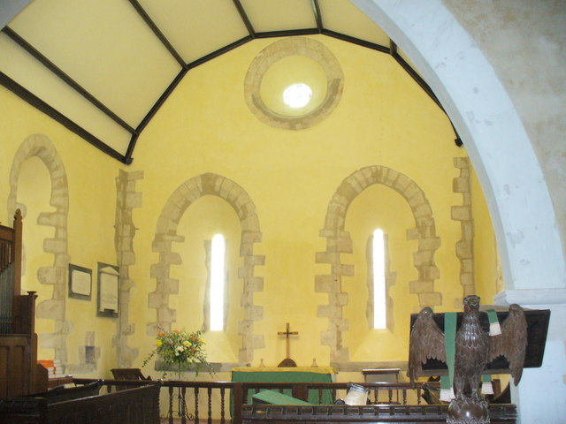Inside All Saints, Long Sutton