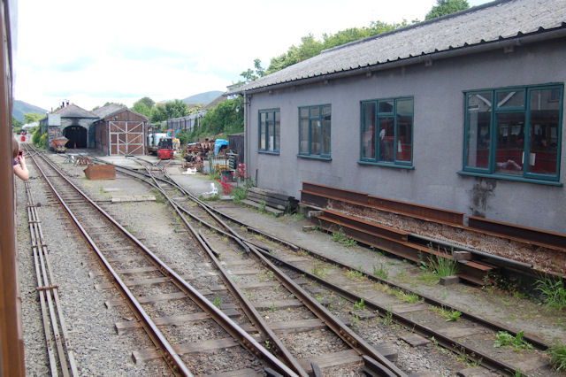 Talyllyn railway workshops Pendre