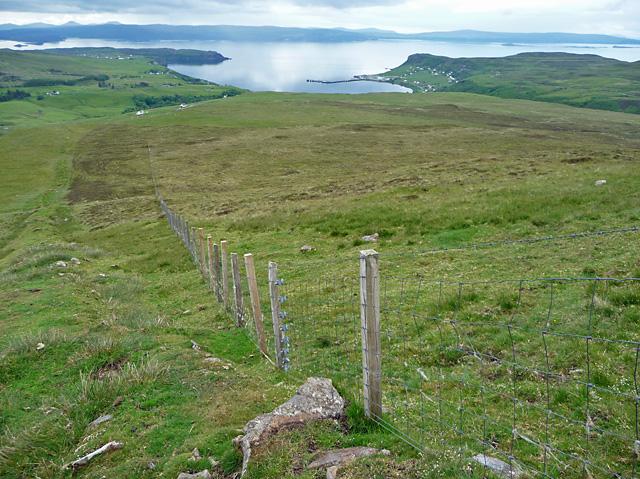 Fenceline above Glen Conon