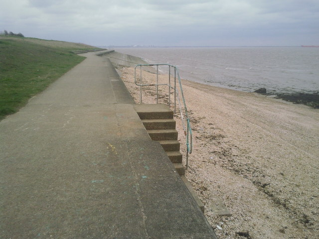 The seafront at Grain