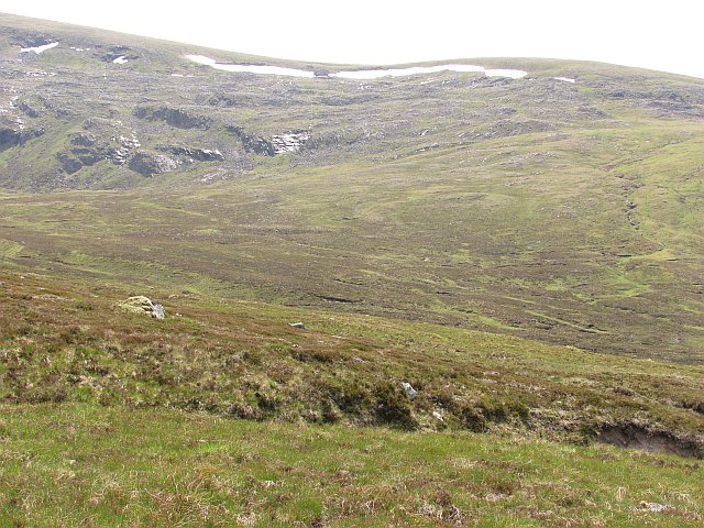 A corrie behind Creag Meagaidh