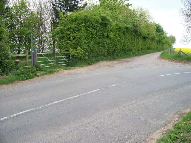 Start of the footpath
