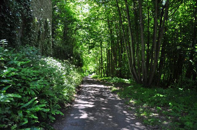 Lane to St Donat's Church