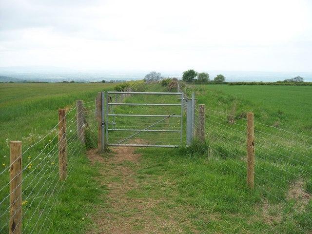 Enclosed path