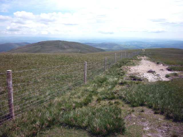 Fence, The Knowe, Harter Fell