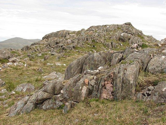 Summit,  Meall a' Mheanbh-chruidh