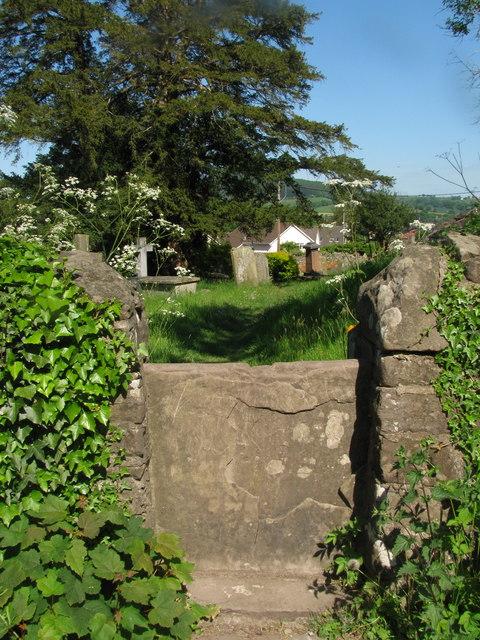 Churchyard Stone Stile
