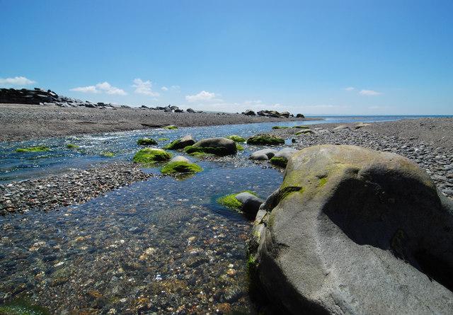 Afon Dysynni meets the sea