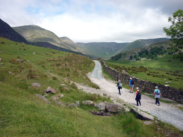 The way to upper Kentmere