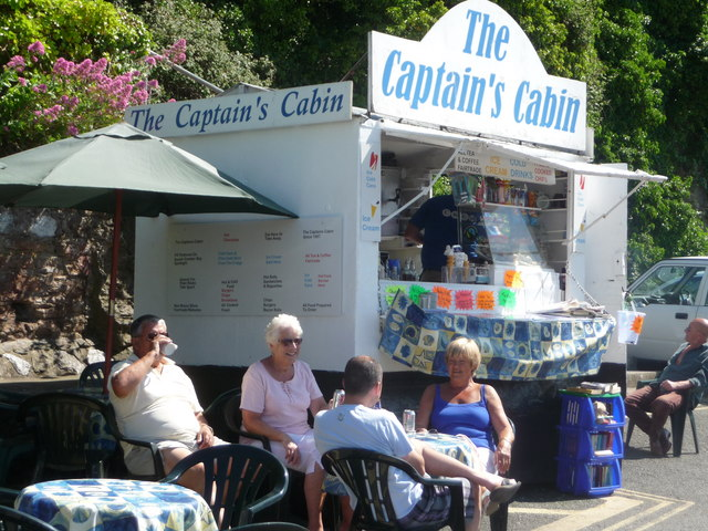 Brixham : The Captain's Cabin