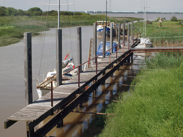 Landing Stage at Barrow Haven
