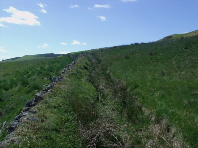 Dry ditch