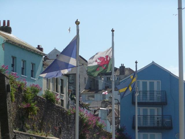 Brixham : National Flags