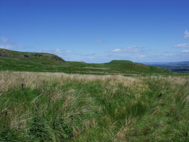 South east slopes of Birns
