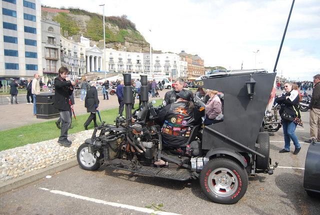 Motor trike, Hastings