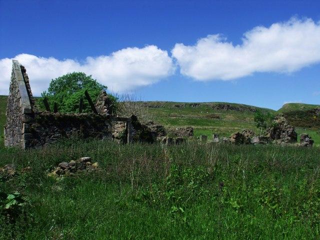 Tappetknowe ruins