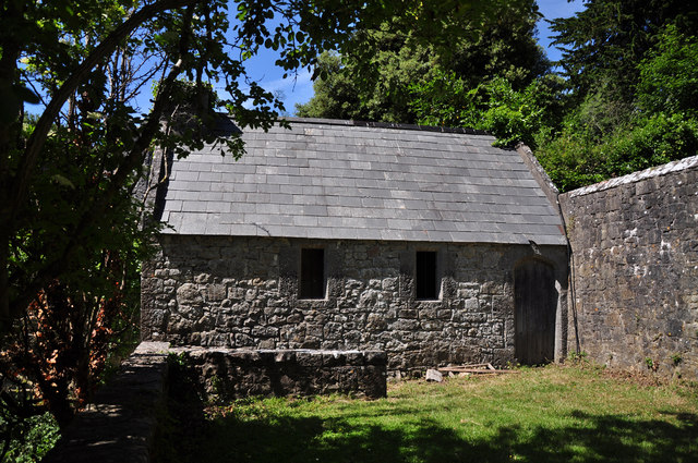 Stone shed - St Donat's