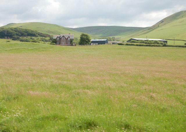 Fields near Cynfal Farm