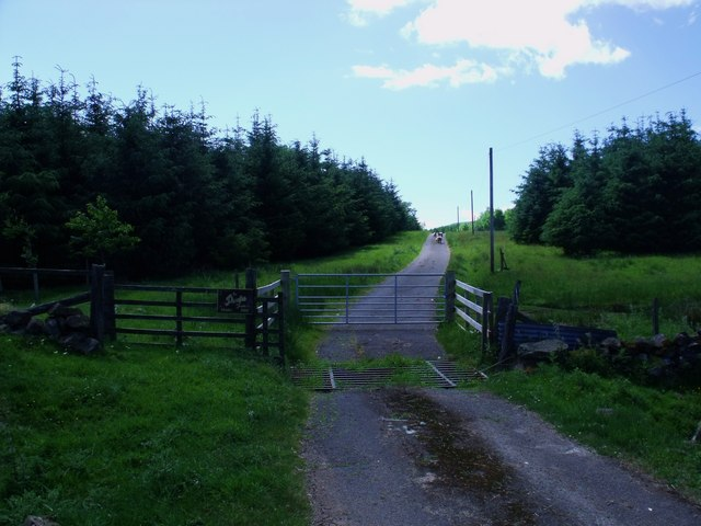 The Doups gate