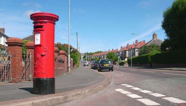 Post Box at the junction of Hollow Lane and Fairfield Lane