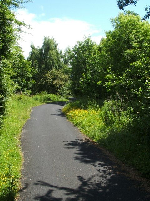 Cycle Route 7 at Dennystown Forge