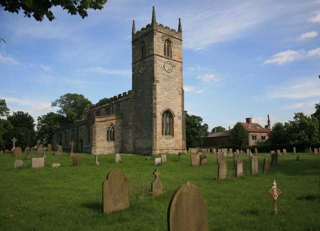 Low Marnham church