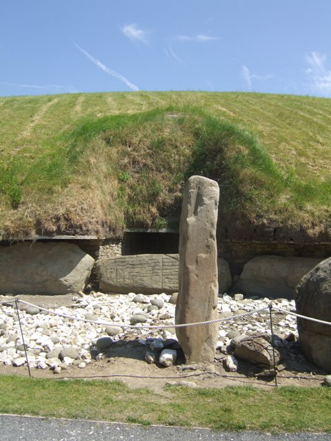 West passage at Knowth
