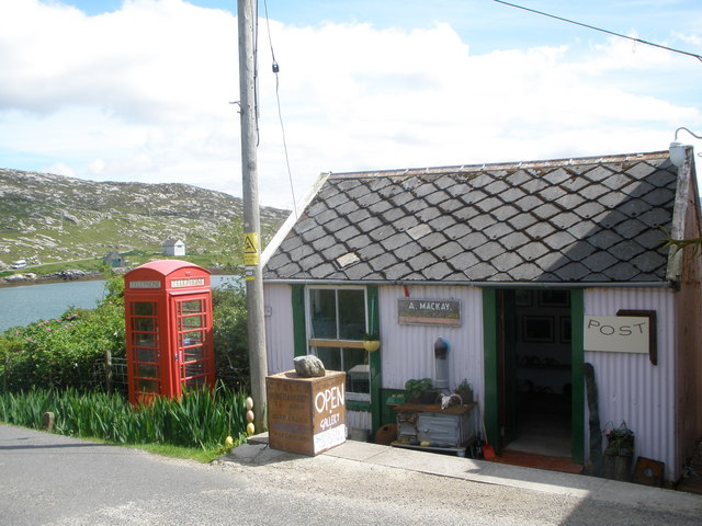 Post Office and shop at Abhainn Suidhe